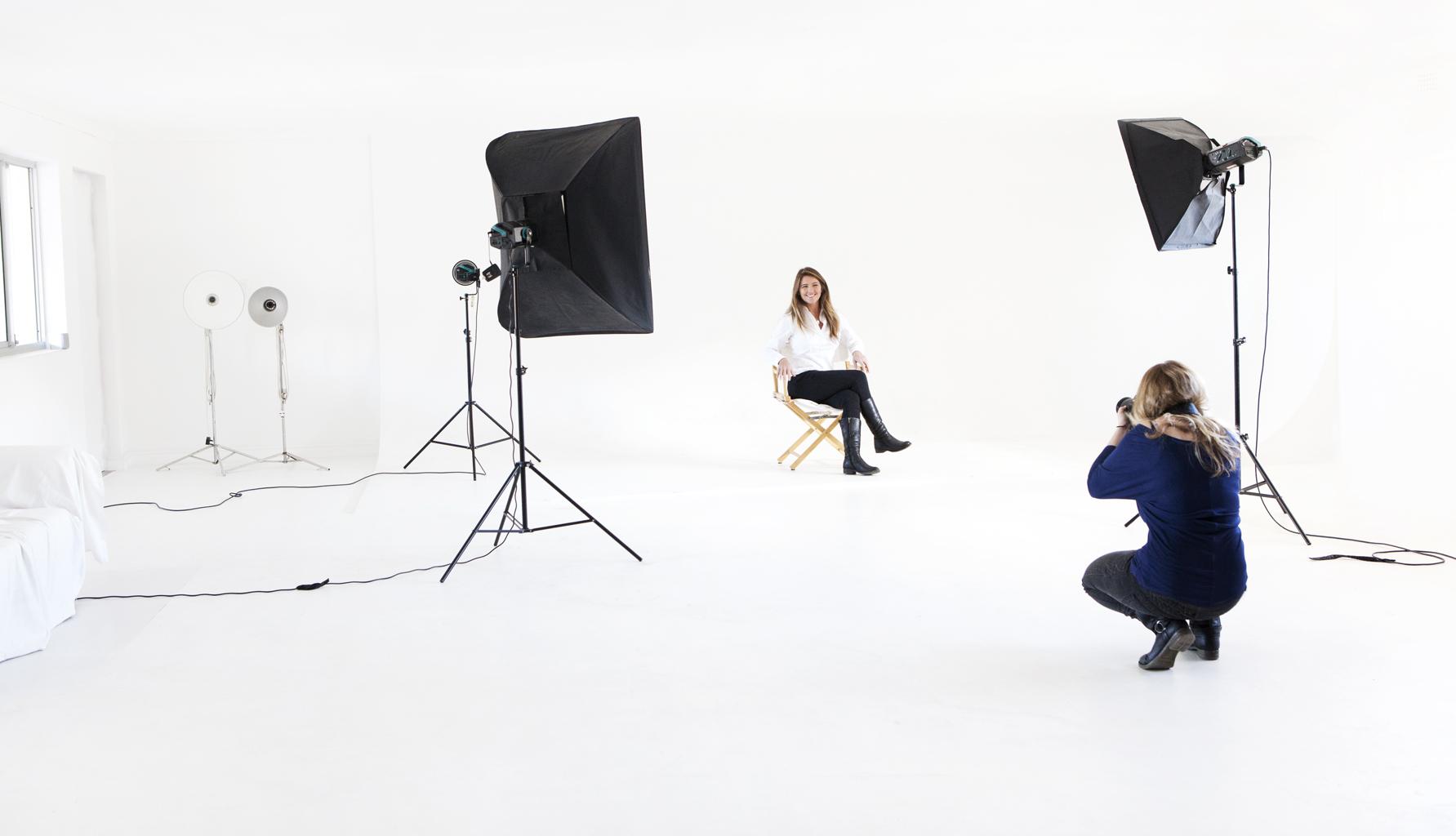 Cara behind the lens
